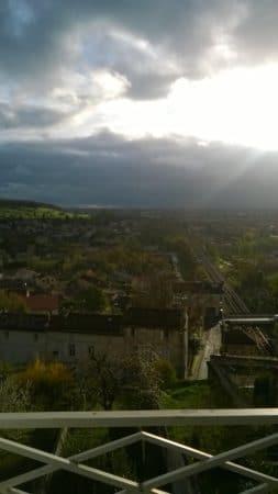 Angoulême, vers l'ouest